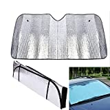 Best Car Sunshades - Front Windshield Sun Shade, Black Jumbo 5 Layers Review