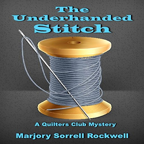 The Underhanded Stitch audiobook cover art