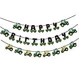 SUNBEAUTY バースデー ガーランド バナー カー HAPPY BIRTHDAY装飾 誕生日ガーランド 可愛い