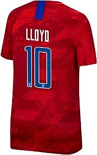 BADAWO #10 Carli Lloyd Home Soccer Jersey for Mens White