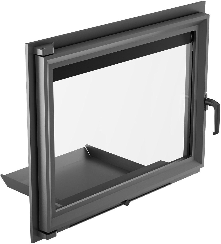 Kamintür Gusseiserne Tür für Kamineinsatz Zuzia 652x 515mm