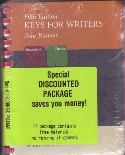 Keys for Writers Fifth Edition [Value-pack]