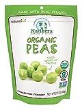 NATIERRA Nature's All Foods Organic Freeze-Dried Peas   Non-GMO & Vegan   2.2 Ounce...
