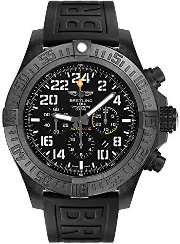 Breitling Avenger huracán 50mm Hombres del Reloj de Color Negro Correa de Goma xb1210e4/be89–154s