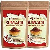 NABALI FAIRKOST Spice Sumacc Sumac de Ottolenghi - 100% natural, aromático, tradicional, fresco, oriental I sin conservantes I vegano (200 g)