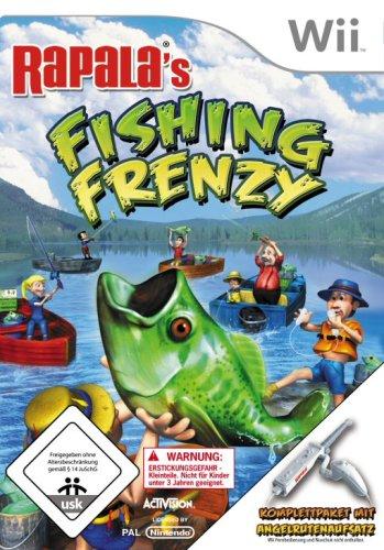 Rapala Fishing Frenzy inkl. Angelrutenaufsatz
