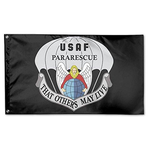GHJOWpill USAF Pararescue Decorative Flag House Flag Yard Banner 3