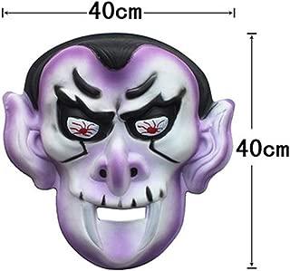LFOZ Novelty Pumpkin EVA Horror Mask Halloween Cosplay Make Up Party Costume (Color : C)