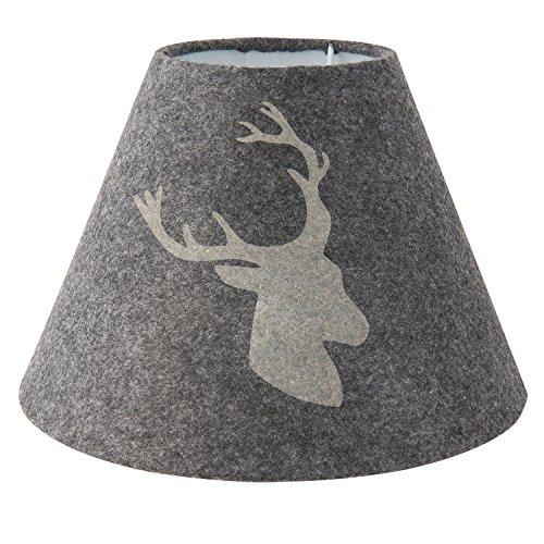 Clayre & Eef 6LAK0395 Lampenschirm Ø 23 * 17 cm