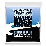 Ernie Ball Flatwound Bass Set Group II, .050 - .105