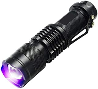OZSTOCK® UV Ultra Violet LED Flashlight Blacklight Light 395 nM Inspection Lamp Torch