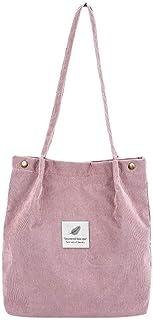 TAMALLU Frauen Umhängetasche Cord Mode Handtasche Tote