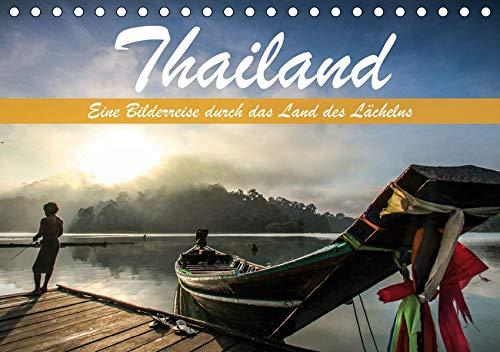 Thailand - Eine Bilderreise durch das Land des Lächelns (Tischkalender 2021 DIN A5 quer): Traumhafte Aufnahmen aus dem Land des Lächelns (Monatskalender, 14 Seiten )