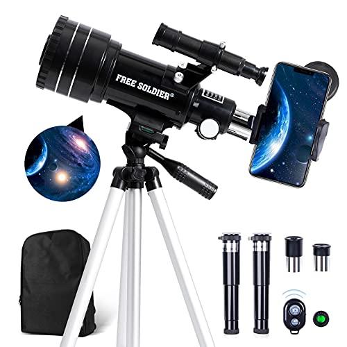 telescopio profesional de la marca FREE SOLDIER