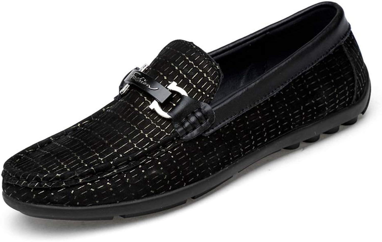 Mode för mode av herrskor Lok Lok Lok Fu skor Casual Personlighet Metaldecorate Boat Mocasins (färg  svart, Storlek  9.5 D (M) US)  grossistpris