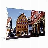 Premium Textil-Leinwand 120 x 80 cm Quer-Format Blick auf den Fruchtkasten, Leinwanddruck von Angelika Keller