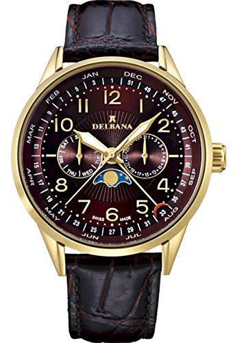 Delbana - Armbanduhr - Herren - Classic Collection - 42601.646.6.104 - Retro Moonphase