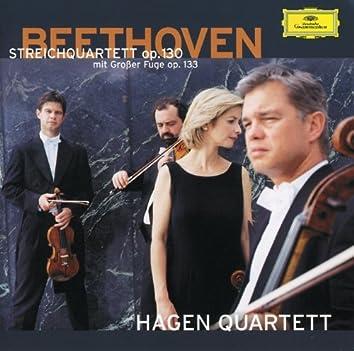 ベートーヴェン:弦楽四重奏曲第13番、《大フーガ》、他