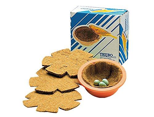Thijbo Nesteinlagen für Kanarien 10 Stück