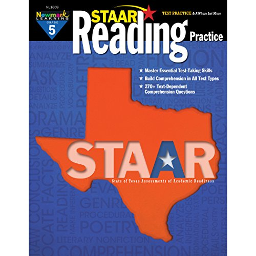 Newmark Learning STAAR Reading Practice Grade 5