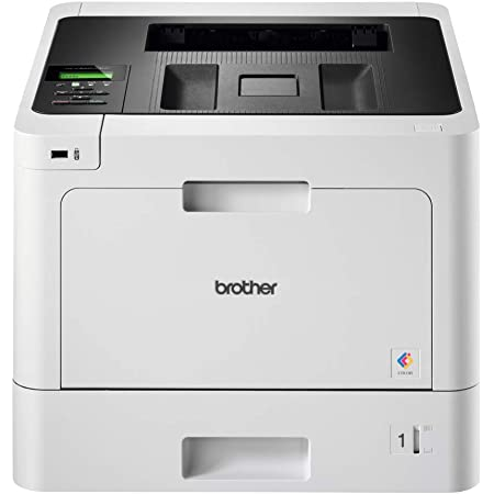 Brother HL-L8260CDW - Impresora láser (Color, WiFi, Doble Cara, Pantalla LCD, Memoria de 256 MB), Blanco
