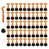 50 unids/set separadores de baldosa para pisos, sistema de nivelación de baldosa de pared, espaciadores, alicates, Mini soporte nivelador de baldosa