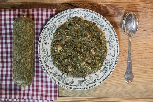 Original Ammerländer Grünkohl im Schlauch; wenig Arbeit, viel Geschmack! ca. 500g