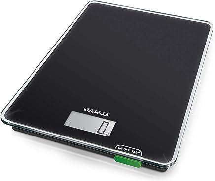 SOEHNLE SOEHNLE Kitchen Scale, Black, GSH61500