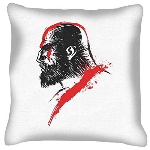 God van de oorlog Kratos kussen