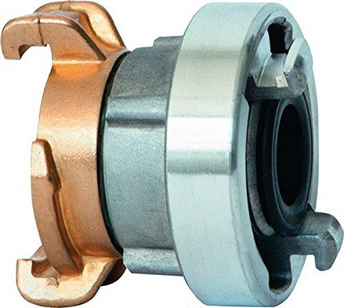 KARASTO Adaptateur GEKA plus-Storz C Laiton/métal léger IG G 1/4Zoll AG G 1/4Zoll K