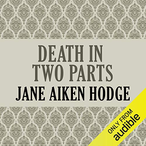 Death in Two Parts audiobook cover art