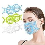 Morran Soporte 3d Soporte De Protección De Lápiz Labial 3d Prevenir Eliminación De Maquillaje Mejora Espacio De Respiración Ayuda a Respirar Suavemente Para Niños Correr Verano
