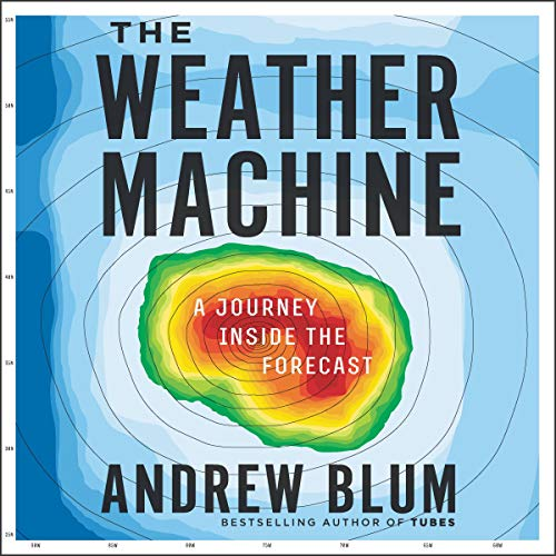 The Weather Machine audiobook cover art