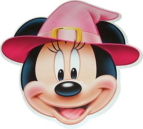 Halloween Minnie Mouse de Disney Masques de Costume de sorcière fabriqués à partir de Carte Rigide - Produit Disney Officiel
