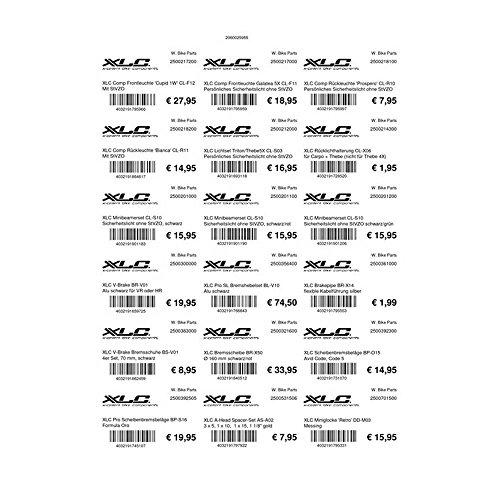 Preisvergleich Produktbild Etiketten A4,  40x60mm 25 Seiten je 18 Etiketten pro Seite