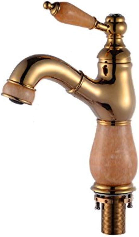 Wasserhahn Wasserhahn Armaturen Jade Wasserhahn Kupfer Pull Wasserhahn Bad Becken Einlochmontage Becken Heie Und Kalte Wasserhahn