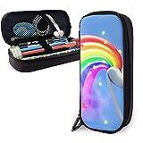 Farts Faire Rainbows PU Sacs En Cuir De Stockage De Poche Portable Étudiant Crayon Papeterie Sac Multi-Fonction Sac