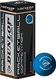 CreativeMinds UK Multi Pack de pelotas de fútbol Dunlop Competition 3 bolas