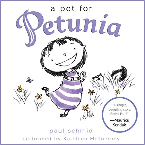 A Pet for Petunia audiobook cover art
