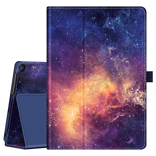 """Fintie Case for Onn. 10.1"""" Tablet Pro, Premium Vegan Leather Folio Protective Stand Cover with Pencil Holder for Onn 10.1 inch Pro Tablet (Model: 100003562) - Galaxy"""
