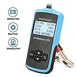 ArtiBattery AB101 Indicatori di Stato y Tester della Batteria 12V Analizzatore 100-2000 CCA e Alternatore Sistema di Avviamento e Ricarica per Auto e Camion Leggeri
