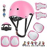 Waysroma Schonerset Kinder Protektoren Gear Set Helm kit,...