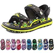 _Kids Classic Outdoor Water Sandals for Girls: 9173 Fuchsia Cherry, EU28 (Size: Toddler 10-10.5)