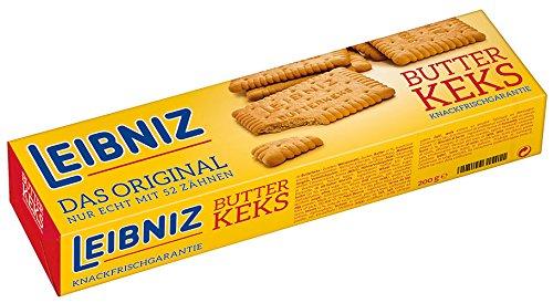 6x Leibniz Bahlsen - Butterkeks - 200g