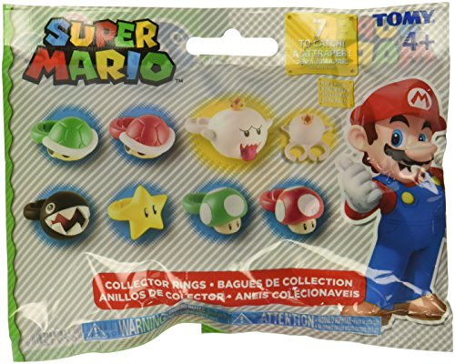 super mario brothers blinds SUPER MARIO Brothers Collector Rings Blind Bag