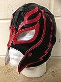 Wrestling Rey Mysterio - Negro - Cremallera Máscara - Nuevo - WWE Disfraz Disfraz...