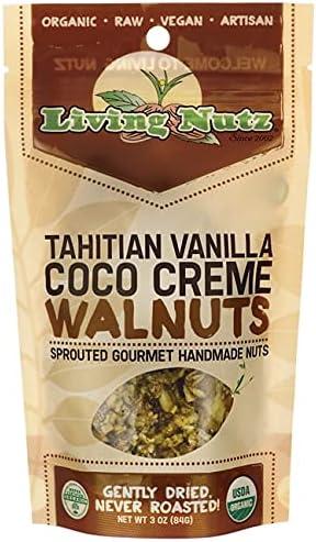 Tahitian 2021new shipping free Vanilla Coco Soldering Creme 3 Ounce Pkg Walnuts