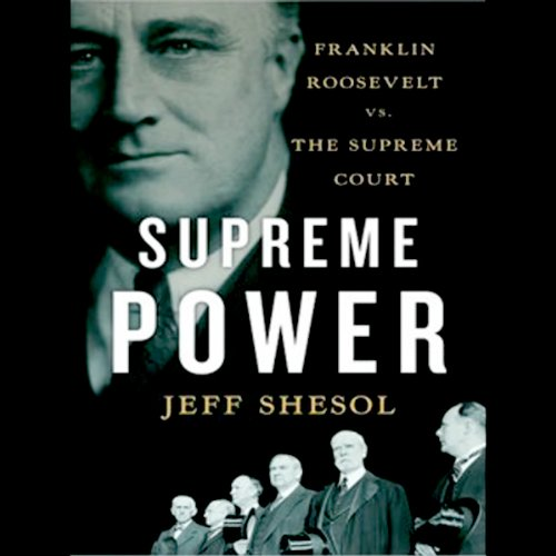 Supreme Power audiobook cover art