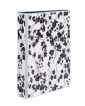 Avery Mini Durable 3 Ring Binder 1 Round Rings Holds 5.5 x 8.5 Paper 1 Painted Floral Binder 18444
