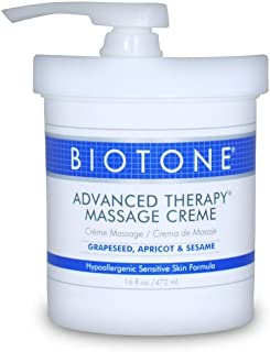 Biotone Advanced Therapy Massage Creme, 16 Ounce